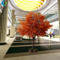 Quality Outdoor Indoor Artificial Birch Christmas Trees Decorative Props 3m Height wholesale