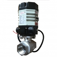 China Stainless Steel 2000psi High Pressure Electric Actuated Ball Valve on sale