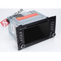 Cheap Split Screen Audi A4  2 Din Car DVD Player With Bluetooth Android 7.1.1 OBD Support for sale