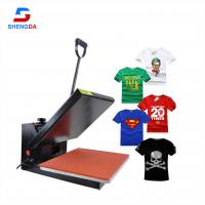 China New design CE approvaled heat press machine T- shirt printing machine on sale