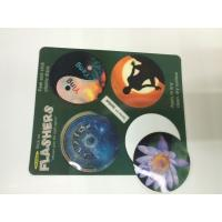 Quality Morph Effct 3D 0.45MM PP Lenticular custom 3d stickers With Offset Printing For Kids wholesale