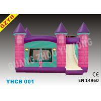 China PVC Inflatable Combo Bouncers with Slide Jumping House YHCB-001 in 6.5*4.5*4m on sale