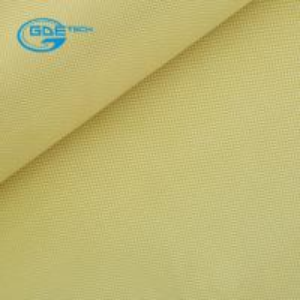 Quality Aramid Cloth Fabric Satin Weave 250g 1m Wide wholesale