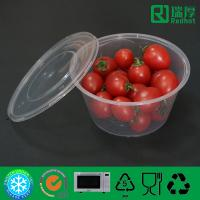 Food grade Take Away Plastic Soup Bowl, Salad container 450ml
