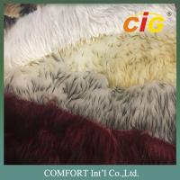 Quality Tip Dyeing Faux Fur Fabric Artificial Faux Fur Imitation Fake Fur Fabric wholesale