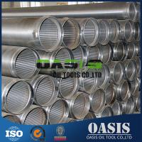 "Quality Continuous slot 8-5/8"" water well drilling wire wrapped screens wholesale"