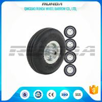 China Smart Balance Pneumatic Trolley Wheels PP Rim Diamond Pattern 20mm Inner Hole on sale