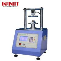 Buy cheap Ring Crush Compression Test Equipment Touch Screen Ring Crush Tester Edge Crush from wholesalers