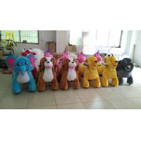 China Hansel adult electric tricycle adult electric car plush animal go kart car prices on sale