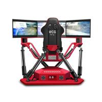 China Multiplayers VR Racing Simulator Game Machine For Amusement Game Center on sale
