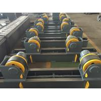 Buy cheap 20t Pipe Turning Rolls Conventional Welding Rotator Drive By 1.1kw Motor Power product