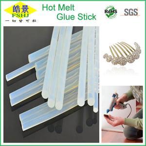 Quality Eva / Resin Hot Glue Gun Sticks Non Toxic Tranaparent For Carton Making wholesale