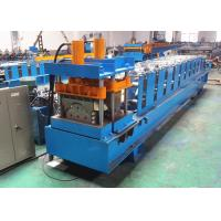 Quality Metal Ribbed Ridge Cap Roll Forming Machine For Roof Joint Sealing wholesale