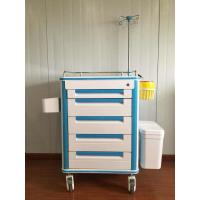 Quality Durable Doctor Drug Delivery Medicine Crash Cart With 5 Inch Caster Wheel wholesale