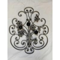 Quality Wrought Iron Elements/ Ornaments/parts  for balusters and gates decorative --Groupware/wrought iron flowers wholesale