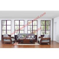 Quality Solid Wood Sofa with Upholstery for Luxury Living Room Made in China wholesale
