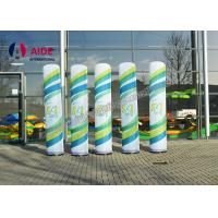 Cheap Personalised Giant Advertising Inflatables , Promotion Use Inflatable Column for sale
