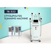 Quality Four Cryo Handles Body Shaping Cryolipolysis Fat Freezing Vaccum Slimming Machine wholesale