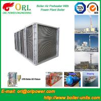 Quality High Pressure Water Tube Boiler Air Preheater Vertical TUV Certification wholesale