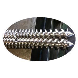 China Wear - Resistant Parallel Twin Screw Φ18-Φ177mm Screw Diameter BEX-2-68-28V on sale
