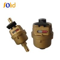 China Copper Material Volumetric Rotary Piston Water Flow Meters (DN15-DN20) on sale