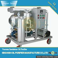 China Vacuum Turbine Oil Purifier with Demulsifying device and water separator, Oil Purifier, 600LPH-18000LPH on sale