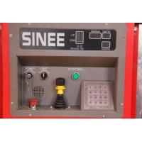 Quality SINEE 55 kw Inverter Building Material Hoist with 400kg Lifting Device on Cage Top wholesale