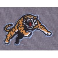 Quality OEM / customized five colors embroidery digitizing logo on pique, 2.75inch w wholesale