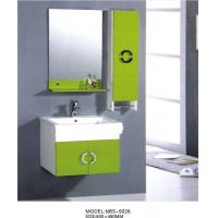 Quality hanging cabinet / PVC bathroom cabinet / wall cabinet  / white color for sanitary ware 60X48/cm wholesale