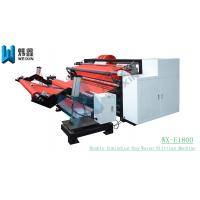 China Double Rewinding Automatic Slitting Machine For Non Woven Fabric Paper Roll on sale