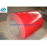 China Customized Color Coated Steel Coil JIS DX51D SGCC Q235 60 - 80 Degrees Gloss on sale