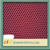Cheap 100 Polyester Mesh Fabric / 3d Air Mesh Fabric For Motorcycle Seat Cover , 140-150cm Width for sale