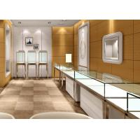 Quality Jewellery Shop Display Cabinets / Store Display Cases Eco - Friendly Material wholesale