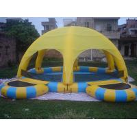 Quality Inflatable Water Pool With Tent / Inflatable Water Ball Pool For Party wholesale