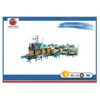 Quality Drop Packer Shrink Wrap Packaging Machine Stable Performance 380V 6KW 2500 * 1800 * 2600mm wholesale