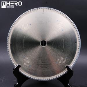 China Metal Cutting PCD Saw Blade / Aluminum Alloy Diamond Circular Saw Blade on sale