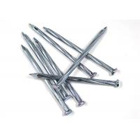 Quality 4.8mm / 80mm Iron Wire Nails , Low Carbon Steel Galvanized Common Nails wholesale