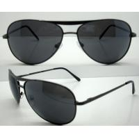 Cheap Hand Made metal Frame Sunglasses For Glare Reduce for sale