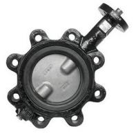 Quality OEM Ductile Iron Centerline Butterfly Valves , Lug Style Butterfly Valve wholesale