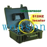 pipe and sewer inspection color camera system with 512hz locator inside