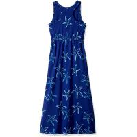 Quality Blue Starfish Printing Little Girl Summer Dresses Kids Sleeveless Dress Round Neck wholesale