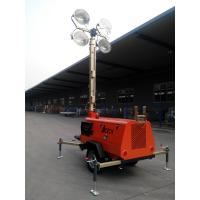 Quality [HOT-ON-SALE] 4*4000W Diesel Mobile Light Tower 9m wholesale