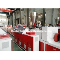 China PE Wood Plastic Composite Decking Extrusion Machine on sale