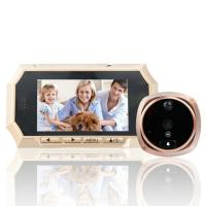 "Cheap 4.3"" Digital Door Peephole Viewer Photo Video Camera Recorder Night Vision Door Eye Smart PIR Doorbell Intercom System for sale"