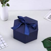 Quality Personalized Cardboard small cosmetic box  printing logo  gift box with ribbon wholesale
