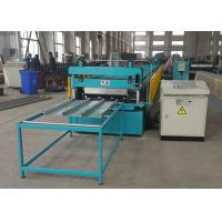 Quality Closed Type Floor Deck Roll Forming Machine For GI / PPGI / Stainless Steel wholesale