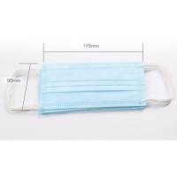 China Dental BFE99 Disposable Surgical OEM 3 Ply Face Mask on sale