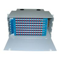 Quality 144 core LC/Duplex SC rack mount Fiber Optical Distribution Frame/ ODF with changeable panel wholesale