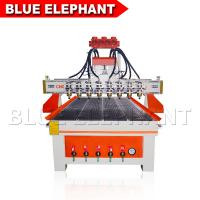 Quality Heavy Duty Wood Cutting Cnc Router Machine , Cnc 3d Wood Carving Machine DSP Control System wholesale