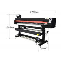 Quality Large Format Eco Solvent Printing Machine Black Color 71 Inch Sublimation Plotter wholesale